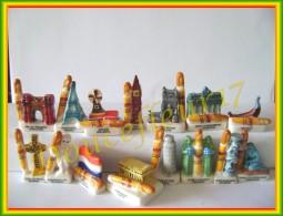 Baguepi En Europe ...série Complète De 15 Feves.. Ref AFF: 99-2002 ..(pan 0019) - Pays
