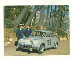 MONTE CARLO RALLYE 1958 SPORT AUTOMOBILE RENAULT DAUPHINE PILOTES MONRAISSE FERET MONACO - Monte-Carlo