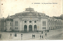 LIMOGES  - Le  NOUVEAU  CIRQUE  MUNICIPAL ( Lire Verso ) - Cirque