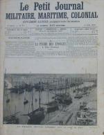 N°79/1905 J.MILITAIRE: PORT DE SFAX SAKOLEVES(PECHEURS EPONGES)/BIZERTE ESCADRE MEDITERRANEE/CAVALERIE NORVEGE/PARIS ROI - Newspapers