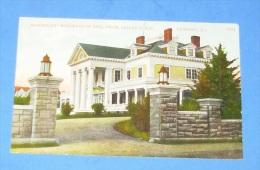"""Beachmont"" Residence Of Benj. Thaw, Bellevue Ave. , Newport - Newport"