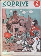 YUGOSLAVIA - Complet NEWSPAPER - CARICATURE - Spanish Civil War - 1936 - War 1939-45
