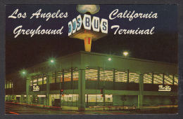 30175/ LOS ANGELES, Greyhound bus terminal, 2 scans