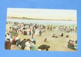 The Bathing Beach ( Easton's ) , Newport ::: Animation - Newport