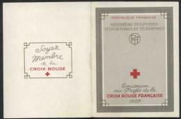 1957 Francia, Libretto Pro Croce Rossa Quadri Di J.L.Callot, Serie Completa Nuova (**) - Carnets