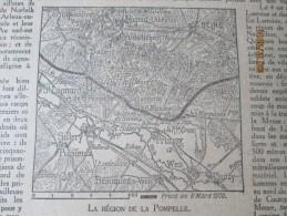 La Grande Guerre  14-18 La Semaine Militaire 28 Fevrier Au 7 Mars 1918 Region De  Pompelle Prunay Beine Sillery Thuizy - Vieux Papiers