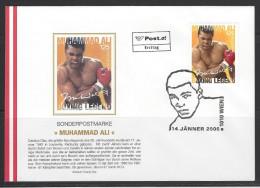 ÖSTERREICH - FDC Mi-Nr. 2567 Muhammad Ali - FDC