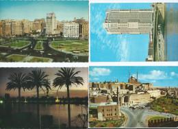 Afrique-Egypte Egypte  CAIRO Le CAIRE   Lot De 4 Cartes Voir Scans  R/V Des 4 Cartes *PRIX FIXE - Cairo