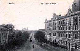MITAU Jelgava Alexander Prospect 1917 - Lettland