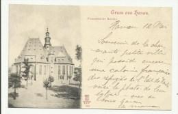 Gruss Aus HANAU - Franzosische Kirche - Hanau