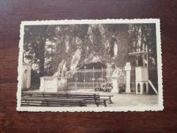 Grot Van O.L.V Van Lourdes Zicht Der Grot / Anno 1937 ( Zie Foto Voor Details ) !! - Edegem