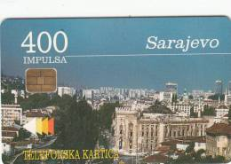 BOSNIA - Sarajevo(400 Units), 01/97, Used - Bosnia