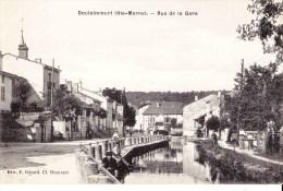 DOULAINCOURT (Haute Marne) - Rue De La Gare - Doulaincourt