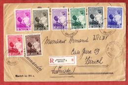 Einschreiben Reco, Satzbrief Koenigin Astrid, Bruxelles Bruessel Nach Zuerich 1937 (69488) - Belgien