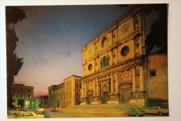 L'AQUILA - BASILICA DI S. BERNARDINO - NOTTURNO -  F/G - N/V - L'Aquila