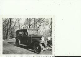 ALTE AUTO  --  PHOTO   8,5 Cm X  6,5 Cm    WITH LADY - Cars