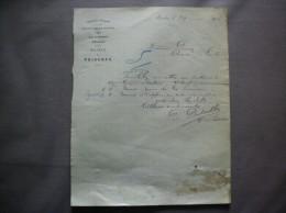 PRISCHES NORD ARRONDISSEMENT D´AVESNES P.DELVALLEE INSTITUTEUR COURRIER DU 29 MAI 1914 - Documenti Storici