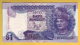 MALAISIE - Billet De 1 Ringgit. 1989. Pick: 27b. NEUF - Malasia