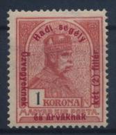 *Hungary 1915 Mi 176 1 Korona + 2 Filler MH - Ungebraucht
