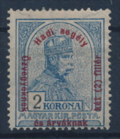 *Hungary 1915 Mi 177 2 Korona + 2 Filler MH - Ungebraucht