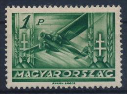*Hungary 1936 Mi 535 1 Pengö Flight Airplane MH - Ungheria