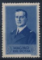 *Hungary 1938 Mi 567 5 Pengö Horthy MH - Ungebraucht