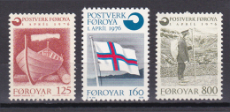 Faroe Islands - Foroyar - 1976 ( Faroe Islands Independent Postal Service ) - MNH (**) - Faroe Islands