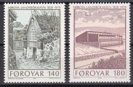 Faroe Islands - Foroyar - 1978 ( Completion Of New Library Building ) - MNH (**) - Faroe Islands