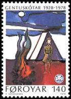 Faroe Islands - Foroyar - 1978 ( Faroese Girl Guides, 50th Anniversary ) - MNH (**) - Faroe Islands