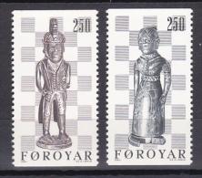 Faroe Islands - Foroyar - 1983 - ( Chessmen, By Pol I Buo ) - MNH (**) - Faroe Islands