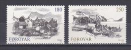 Faroe Islands - Foroyar - 1982 - ( View Of Gjogv, By Ingalvur Av Reyni ) - MNH (**) - Faroe Islands