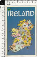 IRLANDA) - Le 26 CONTEE DELL'EIRE -  Viaggiata Formato Grande - Irlanda