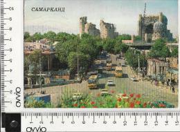 UZBEKISTAN) 1988 Ex URSS  SAMARCANDA  Viaggiata Animata - Uzbekistan