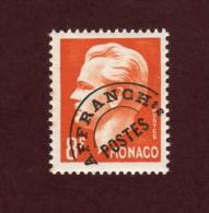 10 De 1951 -  MONACO  -  Neuf * -  Prince Rainier III - 8f. Orange  - 2 Scannes - Monaco