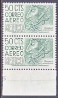 MEXICO  C 220 E N X 2   Perf  11  **  Wmk.  300 - Mexico