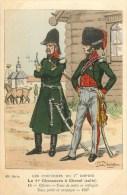 1er Régiment De Chasseurs à Cheval - ** Officiers - Redingote En Campagne - 1807 ** - Cpa - TB état. - Reggimenti