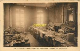 Cpa 30 Le Vigan, Hotel Des Voyageurs, La Salle à Manger - Le Vigan