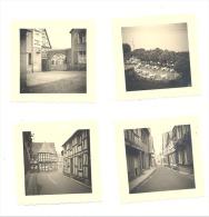 4 Fotos ( +/- 5,5 X 5,5 Cm) Von UNKEL A/Rhein 1955 (b158) - Lieux
