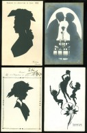 Beau Lot De 40 Cartes De Silhouettes Silhouette   Mooi Lot Van 40 Kaarten Van Silhouetten -  40 Scan - 5 - 99 Postkaarten