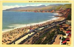 Los Angeles County Beach, Santa Monica, California
