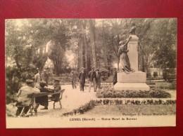 34 Herault LUNEL Statue Henri De Bornier - Lunel