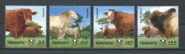 VANUATU 2003  N° 1147/1150  **  Neufs = MNH Superbes Faune Animaux Animals Bovins - Vanuatu (1980-...)
