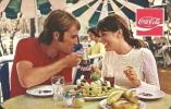 COCA-COLA * SOFT DRINK * WOMAN * GIRL * RESTAURANT * FOOD * KISVARDA * CALENDAR * KSZV 1977 * Hungary - Calendarios