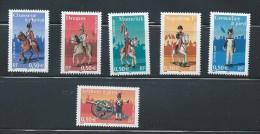 OA 6191 / FRANCE 2004 - Yvert 3679 à 3684 ** - Napoléon Et La Garde Impériale - Neufs