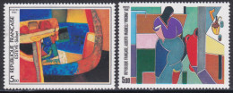2413-2414Œuvres D´art (paire Indivisible) - France