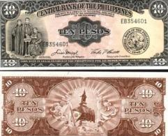 Philippines #136e, 10 Pesos, ND, UNC / NEUF - Philippinen