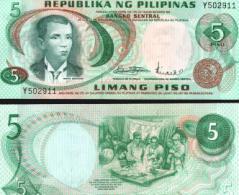 Philippines #148a, 5 Piso, ND, UNC / NEUF - Philippinen