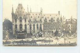 BRUGGE  - Grand'Place,Cortège De La Toison D'or, Groupe De Menestrels (carte Photo). - Brugge