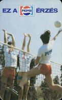 PEPSI * COLA * SOFT DRINK * VOLLEYBALL * SPORT * NAGYKANIZSA * CALENDAR * NS 1983 * Hungary - Calendarios