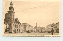 BINCHE - Grand'Place Et L'Hôtel De Ville. - Binche
